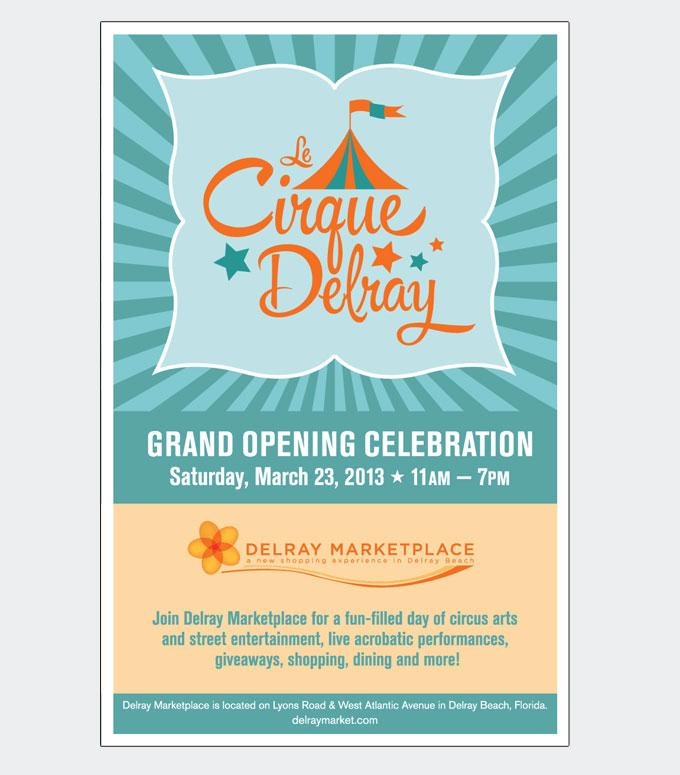 Delray Marketplace Cirque Delray Event