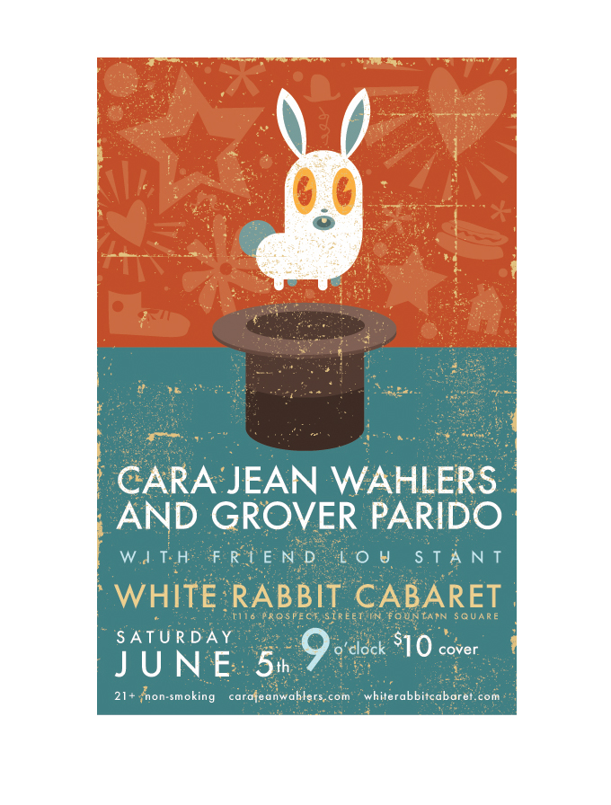 White Rabbit Performance Poster